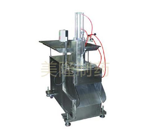 QPQL-350型立式气动盘式切药机
